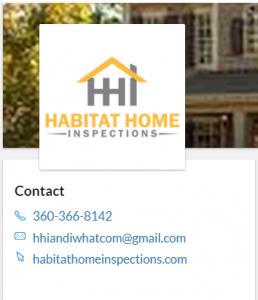 Brian Mattioli Habittat Home Inspections Blaine Washington